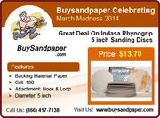 Buysandpaper.com is Celebrating March Madness 2014